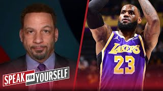 LeBron's play-in games complaints are poor timing — Chris Broussard | NBA | SPEAK FOR YOURSELF