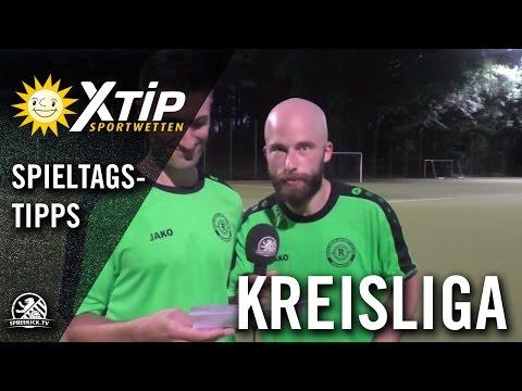 XTiP Spieltagstipp mit Christian Wolter und Manuel Meyer (BSC Rehberge II) - 2. Spieltag, Kreisliga B, Staffel 1   SPREEKICK.TV