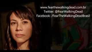 Fear the Walking Dead Brasil Entrevista #1 - Elizabeth Rodriguez (Liza Ortiz)