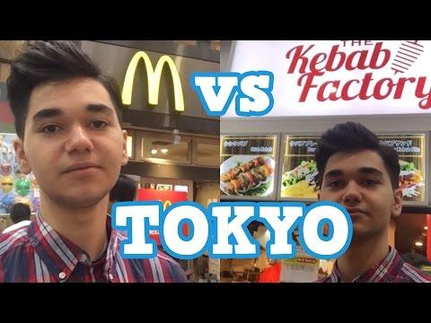 McDonalds VS Türk Dönercisi TOKYO    VLOG#3
