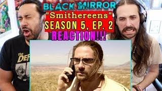 "BLACK MIRROR | Season 5, Episode 2 - REACTION!!! ""Smithereens"""