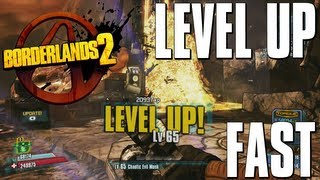 Borderlands 2 - How To Level Up Fast / Power Level to 72