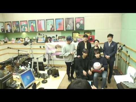 160419 BTS with VIXX N at Ryeowook KTR