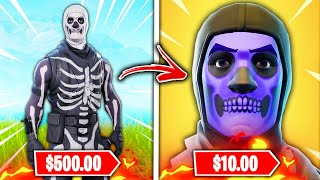 Top 10 RAREST Fortnite Skins RUINED BY RETURNING!