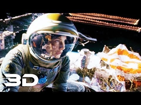 Gravity - Official Trailer In 3D UD (2013) Warner Bros