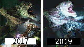 Metro Exodus | E3 2017 Reveal Gameplay VS FINAL VERSION | Comparison
