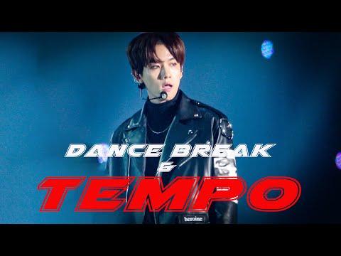 [4K] 181225 SBS 가요대전 - Dance Break & Tempo - EXO Baekhyun 엑소 백현 Focus 직캠 by fluffy kyoong