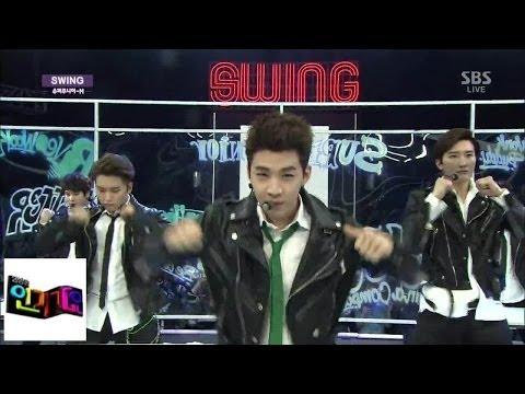 [슈퍼주니어-M(Super junior - M)] - SWING @인기가요 Inkigayo 140406
