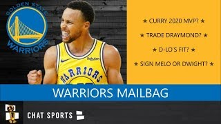 Golden State Warriors Mailbag On Steph Curry For MVP, D'Angelo Russell's Fit & Draymond Green Trade