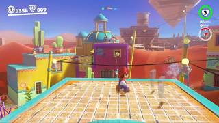 Sounds in Super Mario Odyssey Harmonize with the Background Music