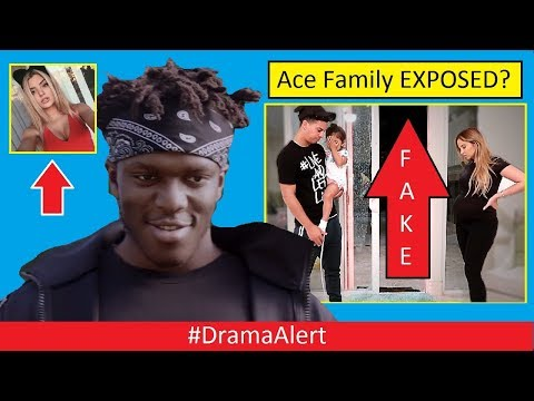 Ace Family FAKED the robbery? #DramaAlert Alissa Violet vs Erika Costell!  KSI - Diss Track!