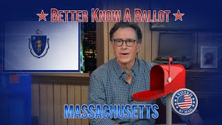 "Massachusetts, Confused About Voting In The 2020 Election? ""Better Know A Ballot"" Is Here To Help!"