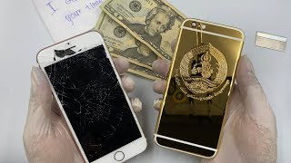 Restoration iPhone 6s to Premium iPhone 24K...