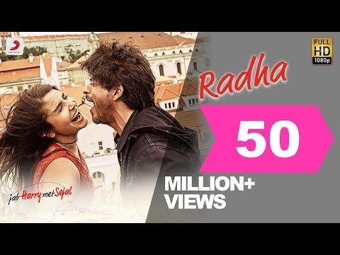 Radha – Jab Harry Met Sejal - Shah Rukh Khan - Anushka Sharma - Pritam - Imtiaz Ali