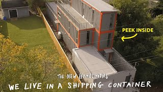 We Live In A Shipping Container   The New Homesmiths   Apartment Therapy