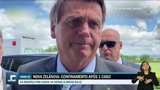 Brasil registra recorde diário de mortes por Covid, e presidente Bolsonaro minimiza pandemia