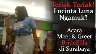 Lucinta Luna Ngamuk-ngamuk di Royal Plaza Surabaya
