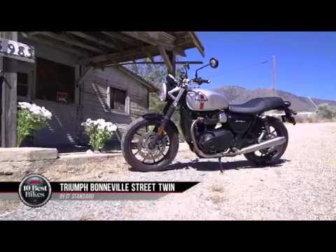 2016 Best Standard Motorcycle - Triumph Street Twin