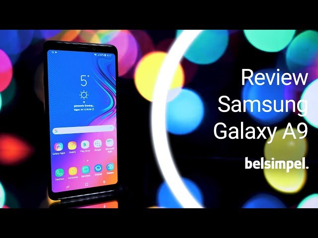 Belsimpel-productvideo voor de Samsung Galaxy A9 A920 Duos Blue