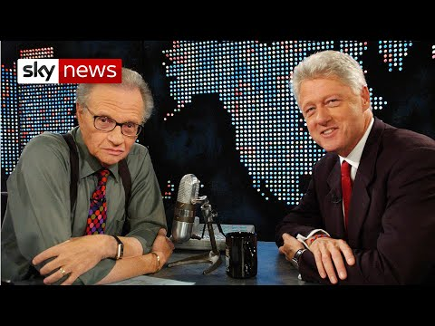BREAKING NEWS: Chat show legend Larry King dies