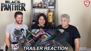 Marvel Studios' Black Panther Official Trailer Reaction and Review