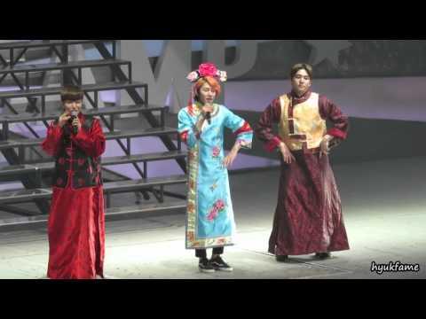 """27/02/16 Super Junior Special Event """"Super Camp"""" in Beijing - Kangin, Leeteuk & Heechul's Perf."""
