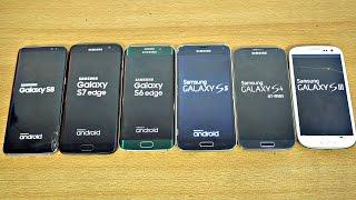 Samsung Galaxy S8 vs S7 vs S6 vs S5 vs S4 vs S3 - Speed Test! (4K)