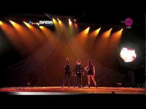 2NE1 내가제일잘나가(I'm The Best) [MAMA 2011 Performance]