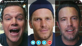 Matt Damon & Ben Affleck Fight Over Tom Brady's Friendship // Omaze