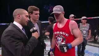 Fight Night Natal: CB Dollaway Octagon Interview