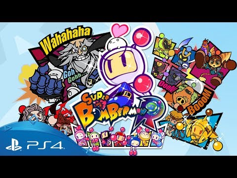 Super Bomberman R | Ankündigungstrailer | PS4