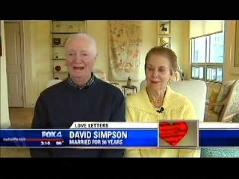 David & Rushie Simpson - Love Letters Story - Fox 4 News Story