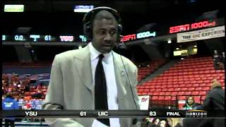 Howard Moore Postgame Interview - vs. Youngstown State - January 29th, 2011