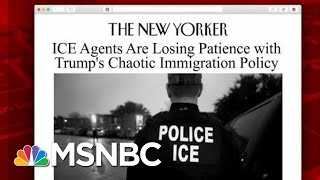 ICE Agents Lose Patience With Immigration Policy | Morning Joe | MSNBC