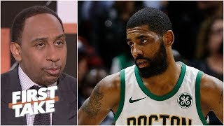 Kyrie Irving's rollercoaster season as narrated by Stephen A.   First Take
