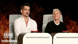 Colin Farrell and Ellen Answer Ellen's Burning Questions