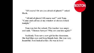 Learn English through story   The adventures of Tom Sawyer