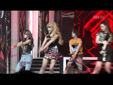 f(x) - Electric Shock LIVE in 1080p on 6/17/12 - Inkigayo