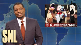 Weekend Update: Top Halloween Costumes & Grocery Store Racism - SNL