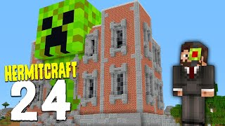 HermitCraft 7: 24 | I BEAT THE BUTTON