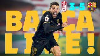 EXTRA-TIME DRAMA!! 🔥BARÇA LIVE | GRANADA 3-5 BARÇA | Match Center 🏆 COPA DEL REY SPECIAL!