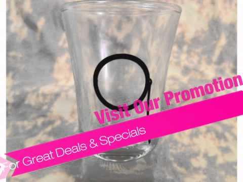 Monocle Shot Glass - AdvantageBridal.com