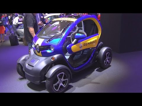 Renault Twizy Z.E. e.dams (2016) Exterior and Interior in 3D