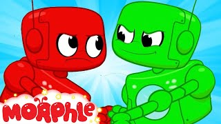 Morphle and The Evil Twin! - My Magic Pet Morphle   Cartoons For Kids   Morphle TV