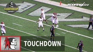 Kahuku vs. Saint Louis: K. Kaniho, 59-yd TD pass from S. Maiava - HHSAA D1-Open Championship (2017)