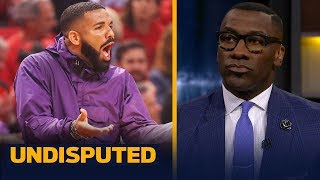 Drake's antics are 'too much' during the Raptors-Bucks series — Shannon Sharpe | NBA | UNDISPUTED