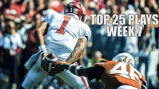 Top 25 Plays From Week 7 Of The 2019 College Football Season ᴴᴰ