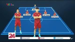 Đội hình dự kiến U23 Việt Nam gặp U23 Qatar  VTV24