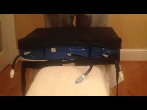 GRZ Self Adjusting Air Wheelchair Cushion by Blue Chip Medical