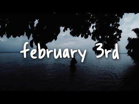 jorja smith - february 3rd // lyrics